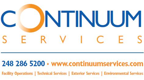 Continuum logo w services